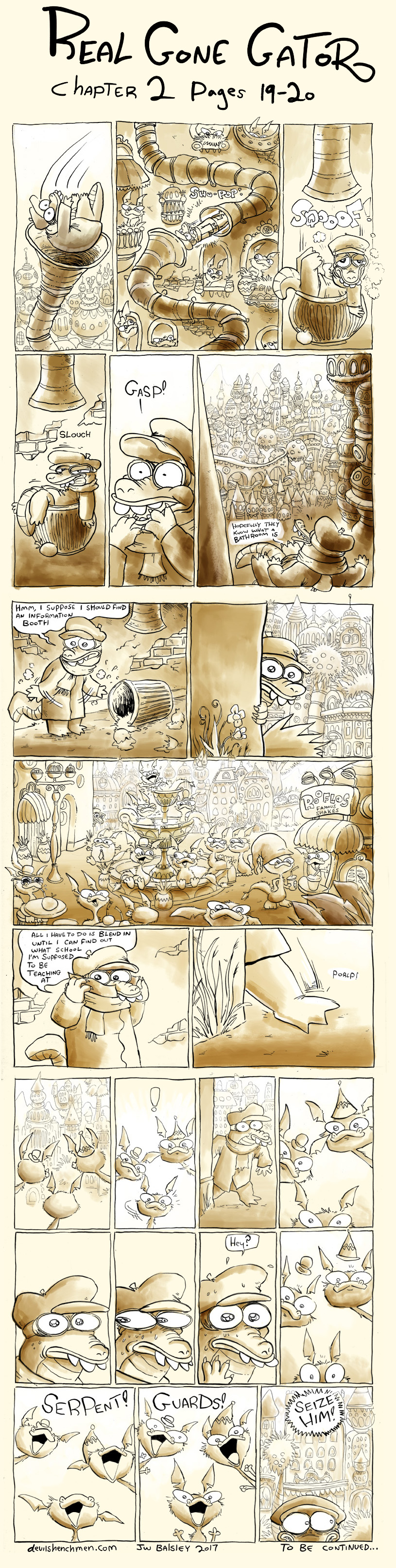 Real Gone Gator chapter 2 pages 19-21