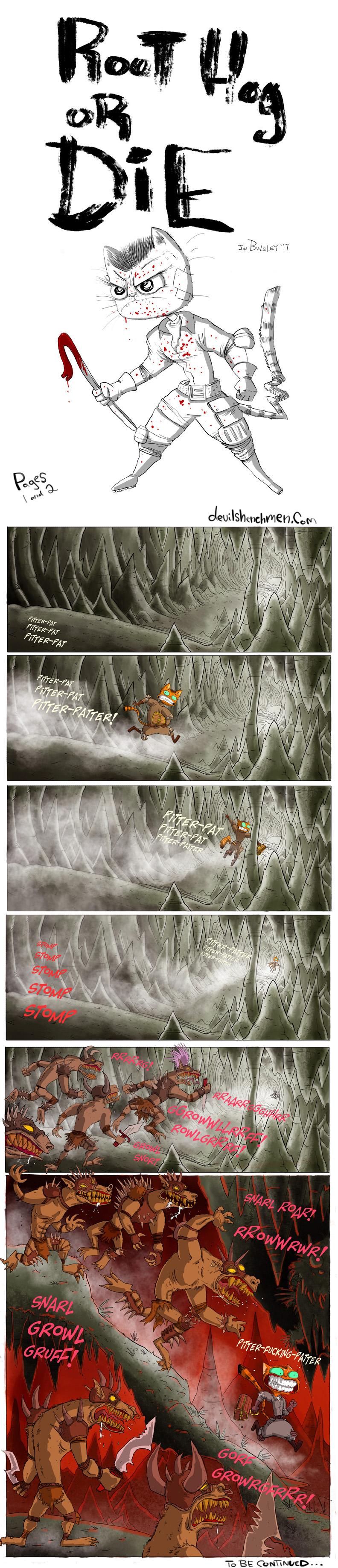 Root Hog or DIE pages 1-2