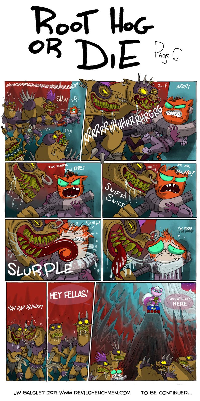 Root Hog or Die! page 6