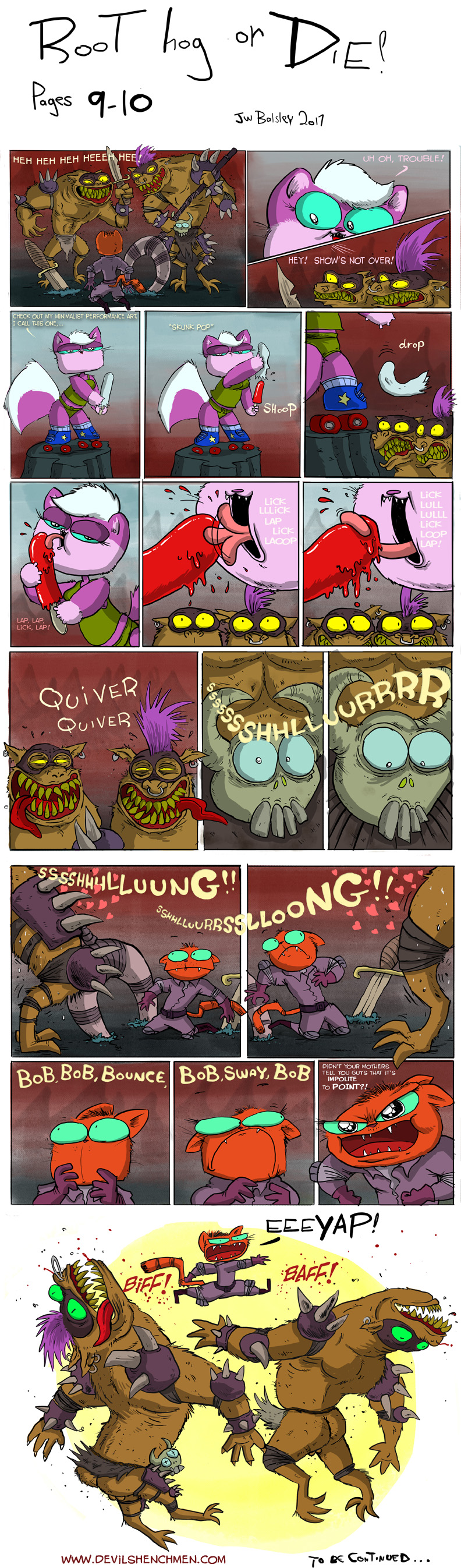 Root Hog or Die pages 9 and 10
