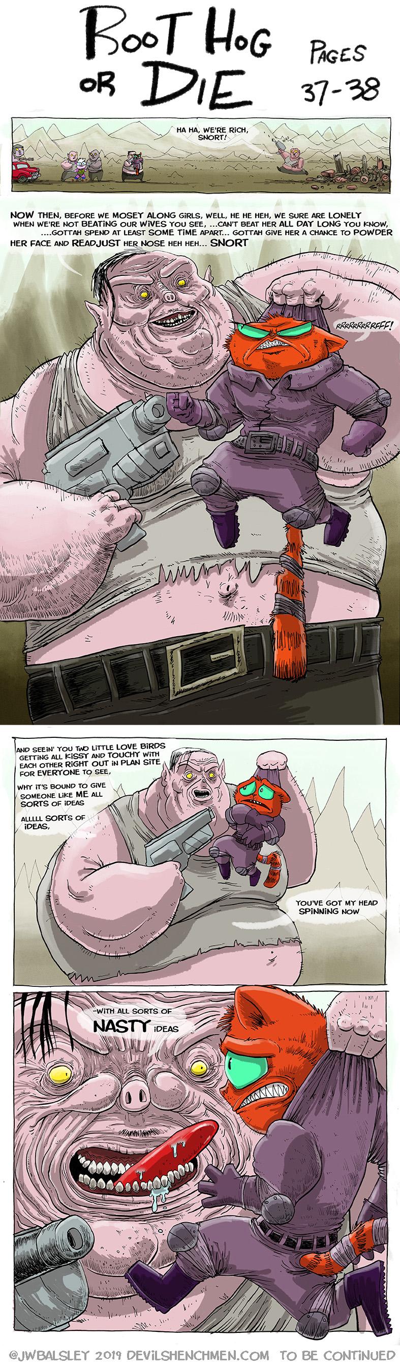 Root Hog or Die pages 37-38